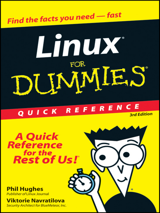 Linux For Dummies Quick Reference (eBook)